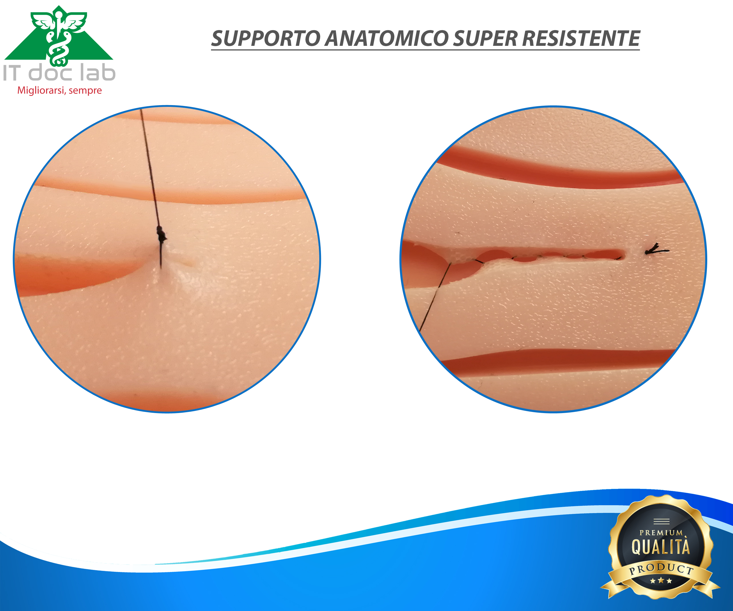 Kit da sutura super resistente